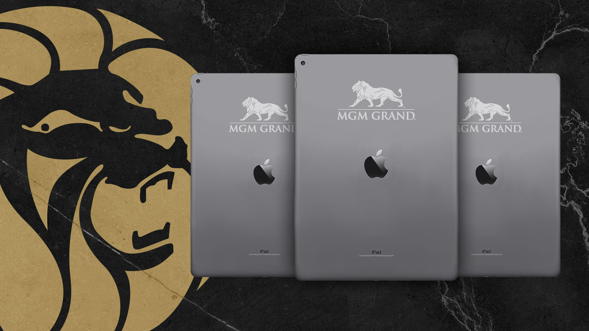 Custom branded Apple iPad Pro for MGM Grand