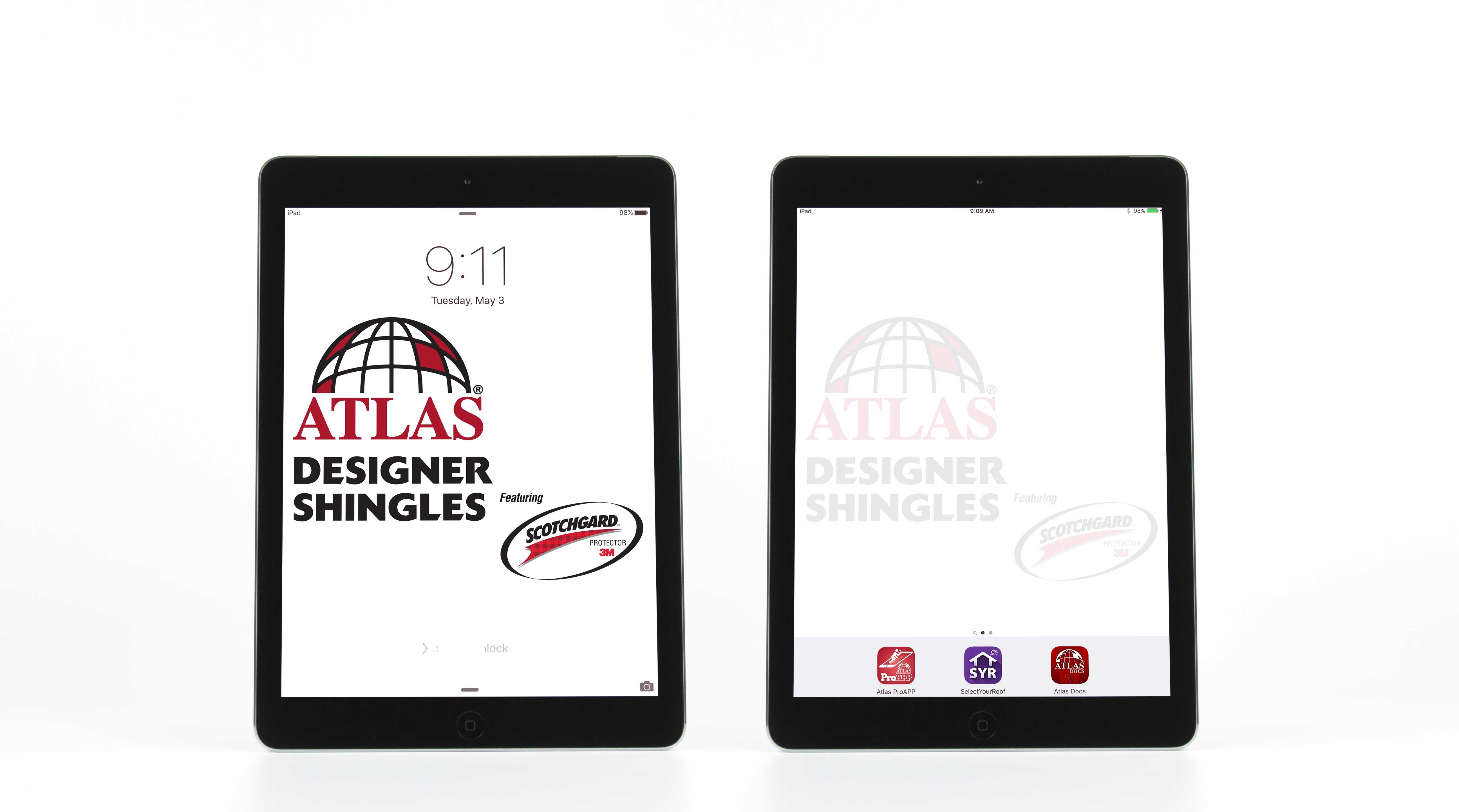 Atlas Roofing offers Apple iPads with preloaded, dedicated applications and tools for its contractors.