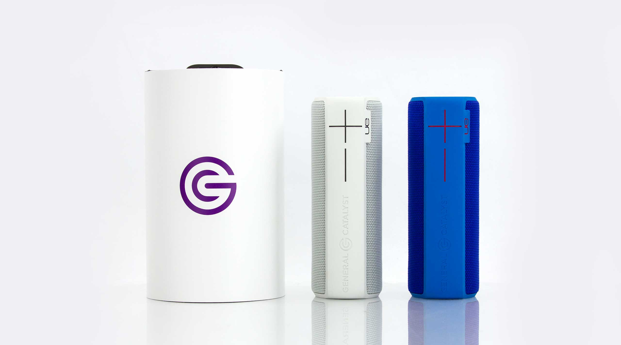 The ever-popular UE Boom 2 customized for General Catalyst