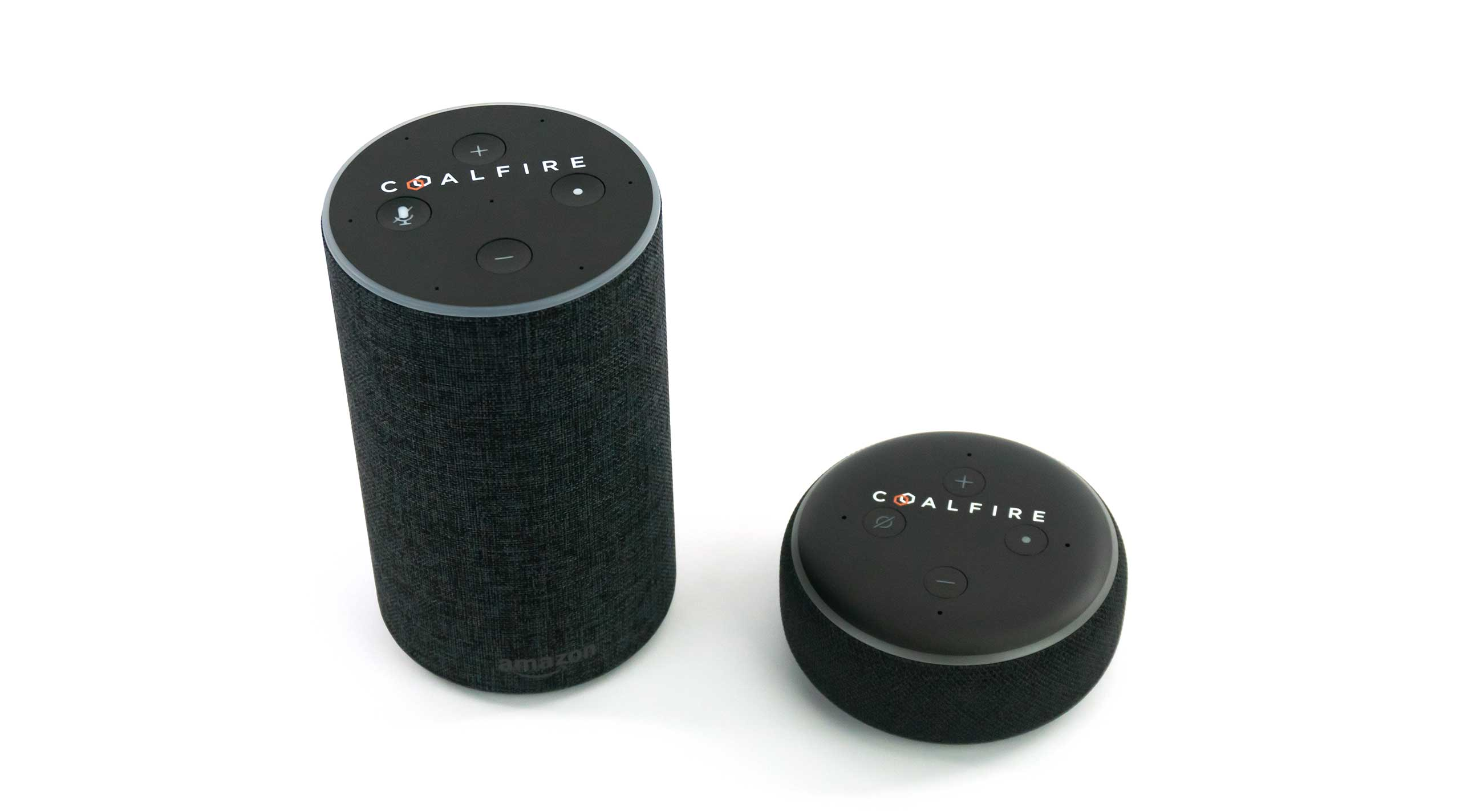 Coalfire customized the Amazon Echo and Echo Dot for company use