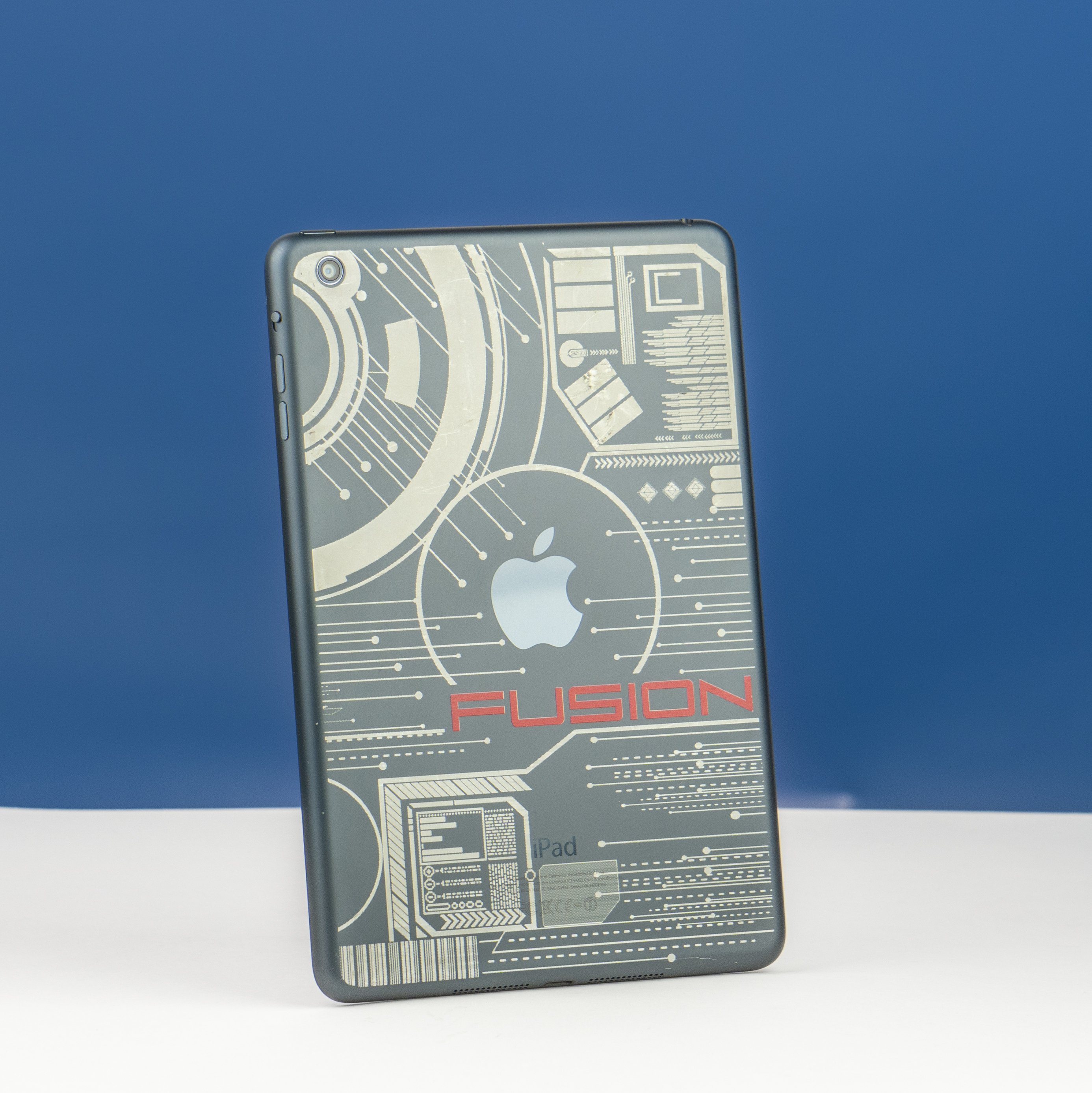 Secure your company devices by adding your company logo or a custom design using laser etch.