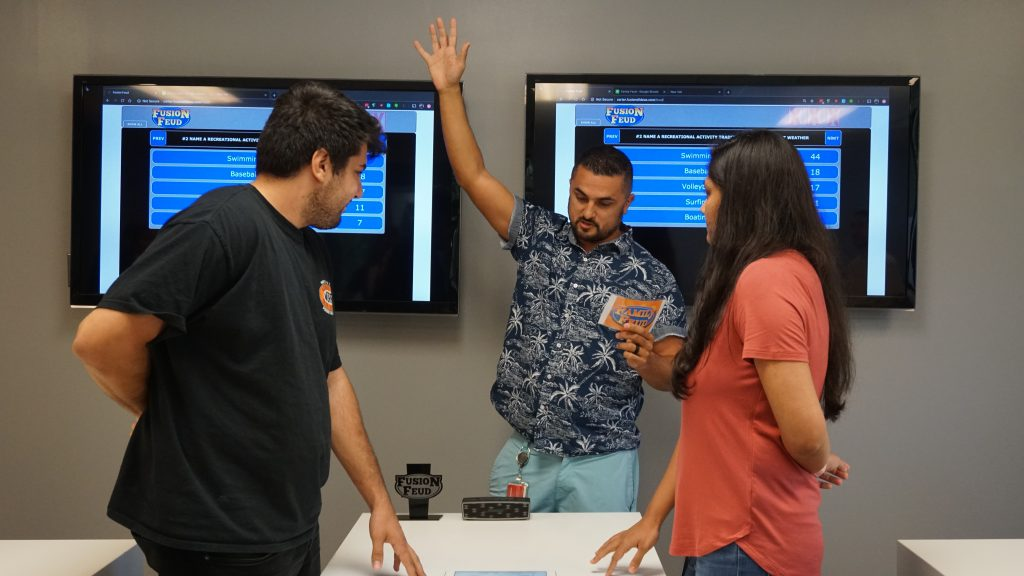Our iOS and Android developers battle it out as they guessed the most popular answers to survey questions.