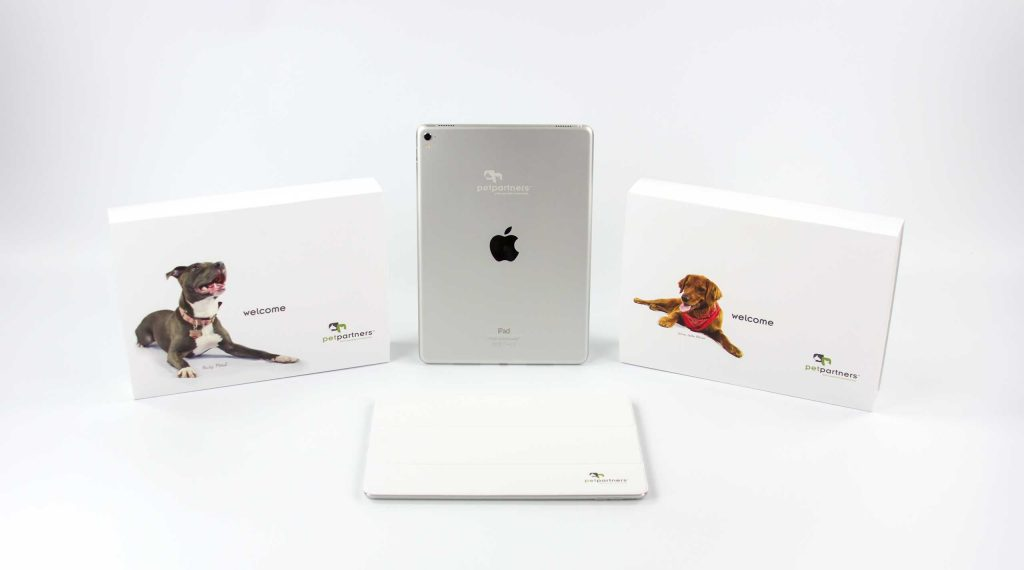 Pet Partners supply each of the independent veterinary offices and hospitals in its network with a customized Apple iPad.